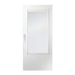 200 series elf-storing storm door
