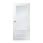 300 series self storing storm door