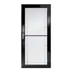 3000 series self storing storm door