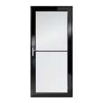 3000 series self storing storm door