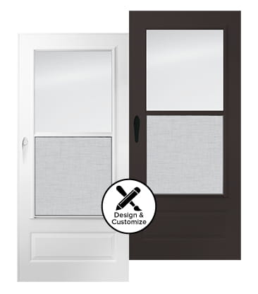 design tool stormdoors 100 plus self storing