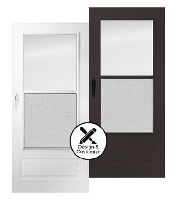 design tool stormdoors 100 plus self storing