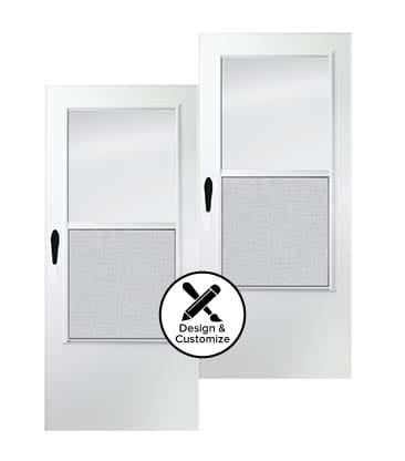 design tool stormdoors 100 self storing