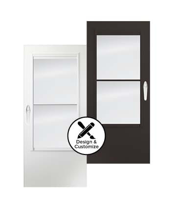 design tool stormdoors 200 self storing