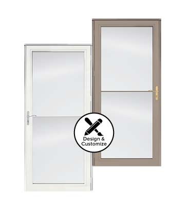 design tool stormdoors 2500 self storing