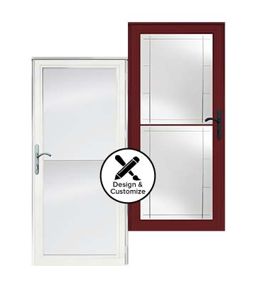design tool stormdoors 3000 self storing