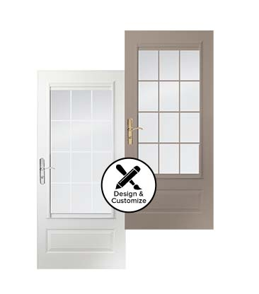 Top Self Storing Colonial Storm Doors Andersen Emco 400