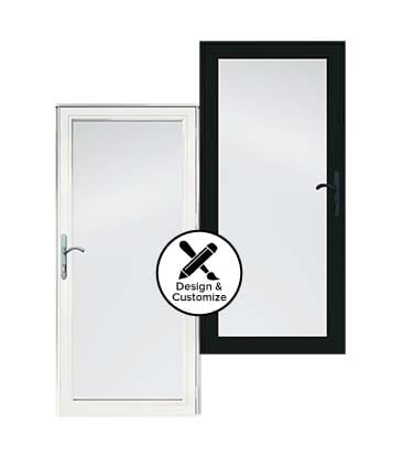 design tool stormdoors 4000 dual pane insulated