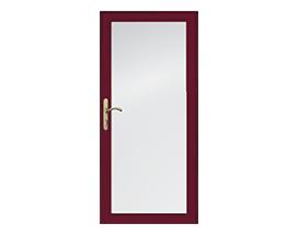 Design your own full light seasonal venting storm door