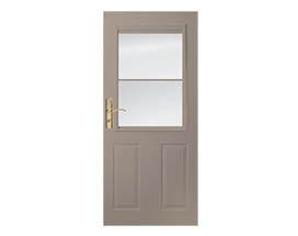 Design your own 1/2 light storm door
