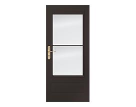 Design your own partial light 3/4 light storm door
