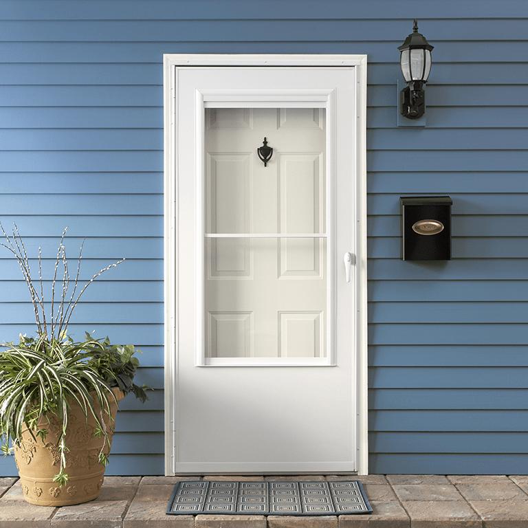 200 series self storing storm door