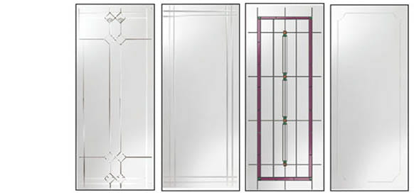 Andersen Storm Doors Decorative Glass