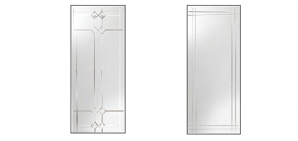 storm door decorative glass