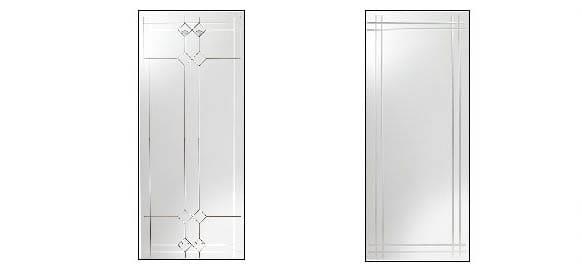 storm door decorative glass