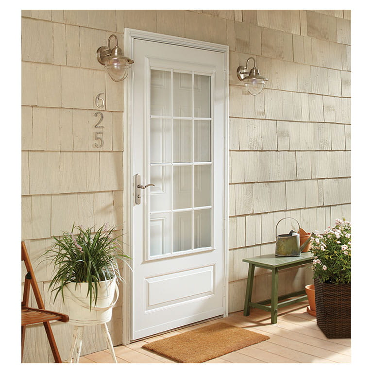 400 series colonial self storing. EMCO storm doors : colonial doors - pezcame.com