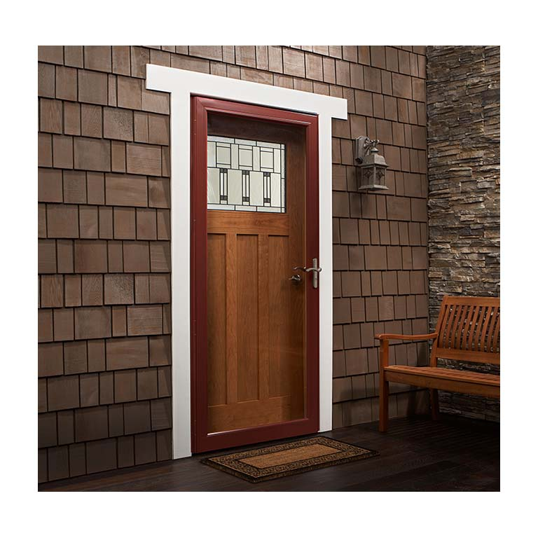 Vented Storm Doors Amp Larson 174 Nuvent Aluminum Storm And