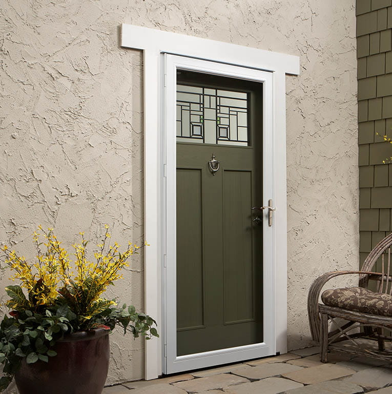 Glass Storm Doors : Full view glass insulated storm doors andersen emco