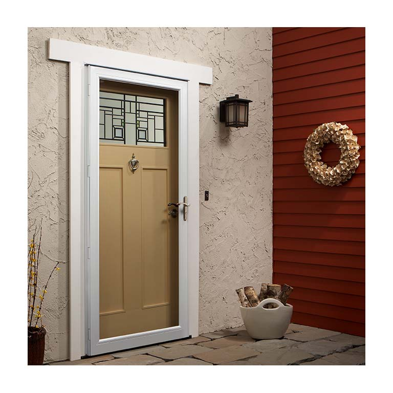 Fullview Storm Door With Laminated Safety Glass