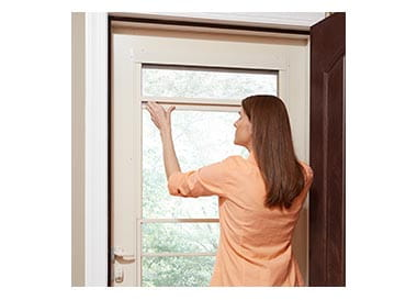 Easy Self Storing Storm Door Andersen Emco 200 Series