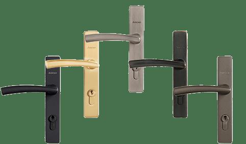 modern stormdoor handle