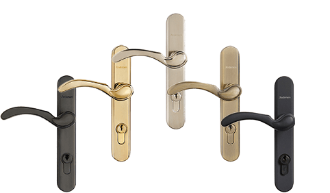 andersen traditional handle finishes