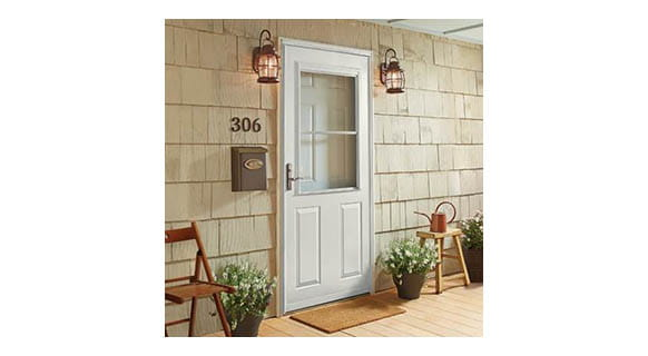 1-2 light storm door