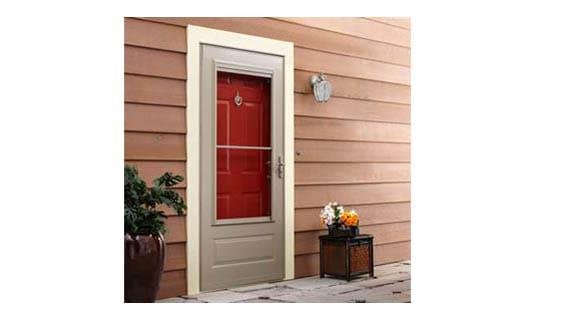 3-4 light storm door