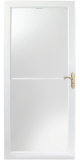 2500 series self storing storm door