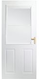 300 self storing storm door