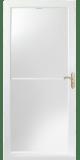 3000 series self-storing storm door