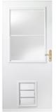 k900 plus storm door with pet entry