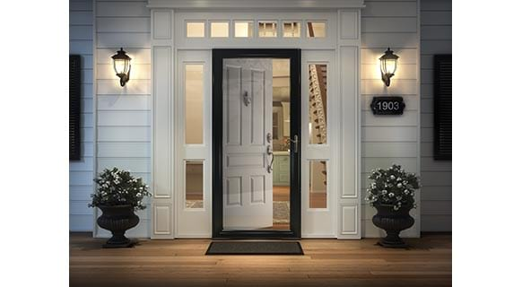 Photo Gallery. Browse Gallery. Storm Door Easy Installation  sc 1 th 166 & Storm Doors At The Home Depot