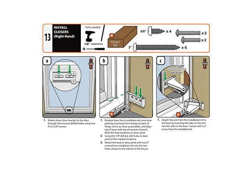 Installation Resources - Andersen EMCO Storm Doors