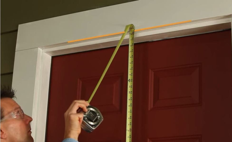 how to measure storm door video