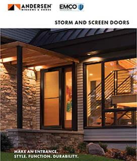 Andersen EMCO storm doors brochure