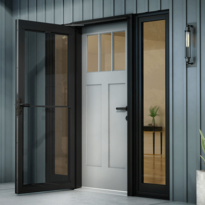 Andersen Windows Smooth control plus storm door